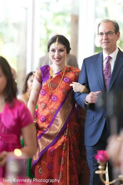 Ceremony in Pittsburgh, PA Hindu-Jewish Fusion Wedding by Joey Kennedy Photography