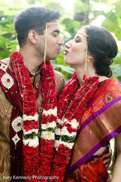 Wedding Portrait in Pittsburgh, PA Hindu-Jewish Fusion Wedding by Joey Kennedy Photography