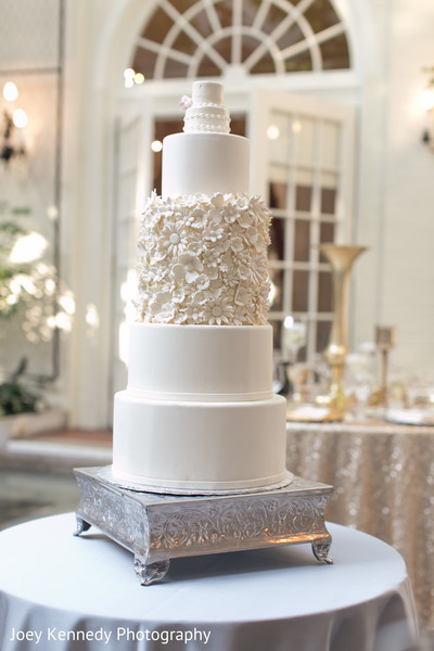 Wedding Cake in Pittsburgh, PA Hindu-Jewish Fusion Wedding by Joey Kennedy Photography