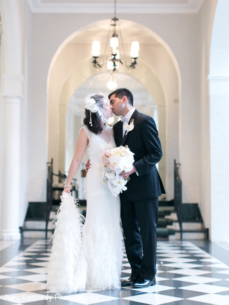 Wedding Portrait in Pittsburgh, PA Hindu-Jewish Fusion Wedding by Joey Kennedy Photography