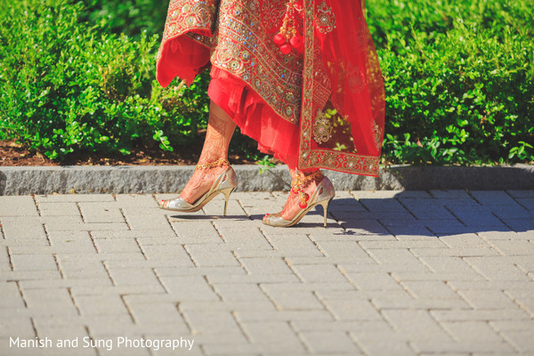 Mehndi in Hartford, CT Indian Wedding by Manish and Sung Photography
