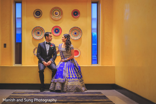 Indian reception portraits