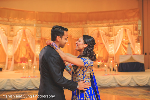 Reception in Hartford, CT Indian Wedding by Manish and Sung Photography