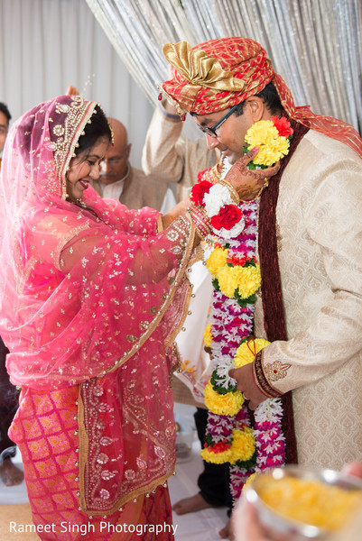 Ceremony in Chapel Hill, NC Indian Wedding by Rameet Singh Photography