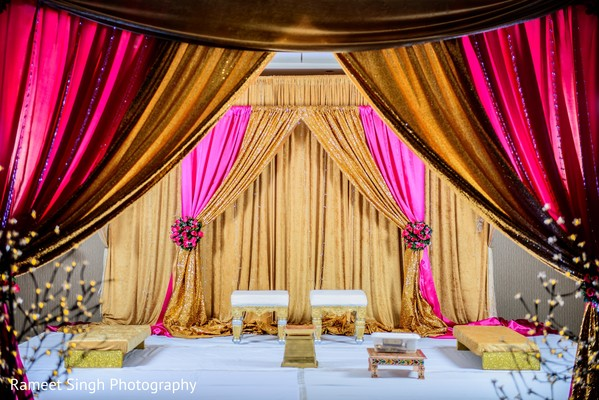 ceremony decor,floral and decor,indian wedding decorations
