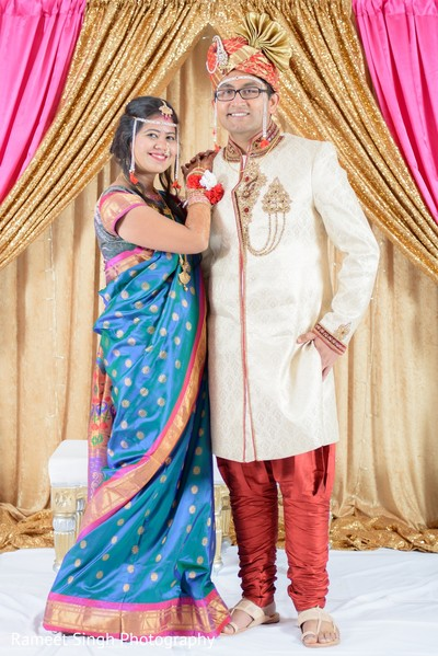 Indian wedding portraits in Chapel Hill, NC Indian Wedding by Rameet Singh Photography