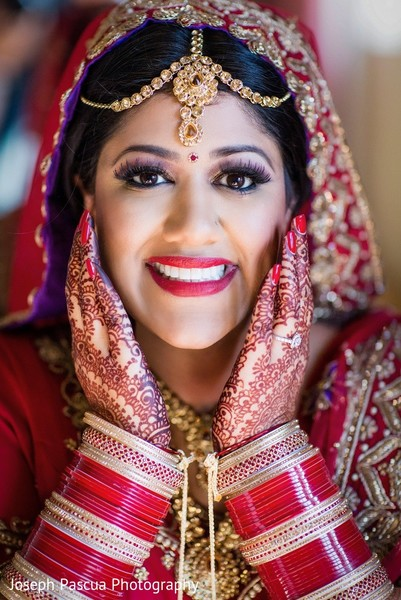 Makeup in San Mateo, CA Indian Wedding by Joseph Pascua Photography