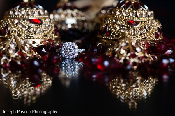 Bridal Jewelry in San Mateo, CA Indian Wedding by Joseph Pascua Photography