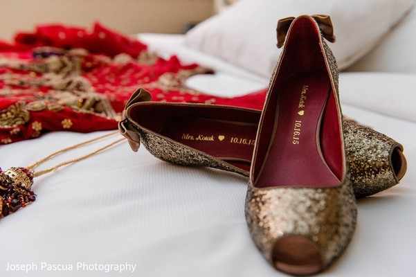 Shoes in San Mateo, CA Indian Wedding by Joseph Pascua Photography
