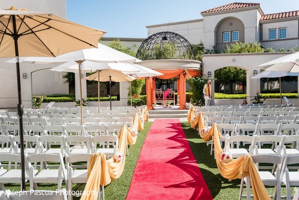 Venue & Decor in San Mateo, CA Indian Wedding by Joseph Pascua Photography
