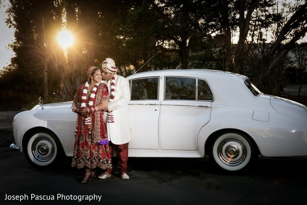 Wedding Portrait in San Mateo, CA Indian Wedding by Joseph Pascua Photography