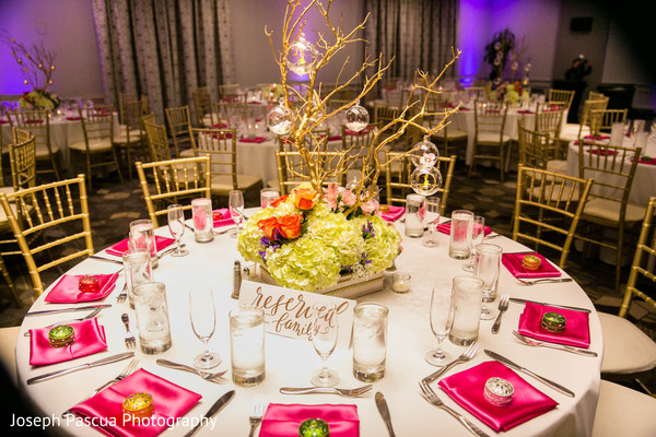 Floral & Decor in San Mateo, CA Indian Wedding by Joseph Pascua Photography