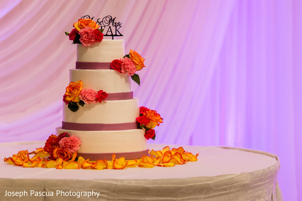 Wedding Cake in San Mateo, CA Indian Wedding by Joseph Pascua Photography