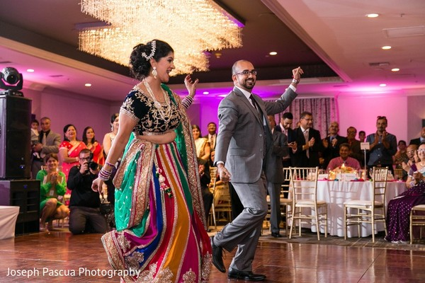 Reception in San Mateo, CA Indian Wedding by Joseph Pascua Photography