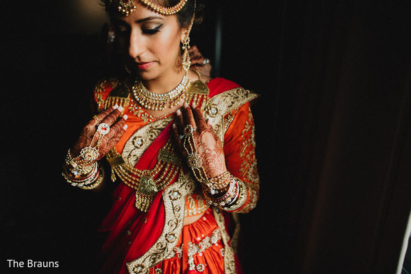 Getting Ready in Columbus, OH  Indian Wedding by The Brauns
