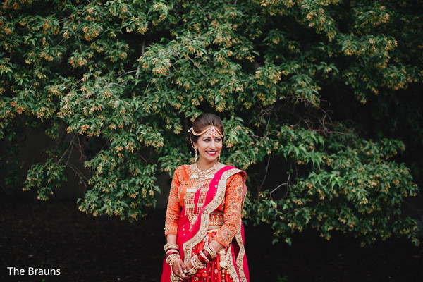Bridal Fashion in Columbus, OH  Indian Wedding by The Brauns