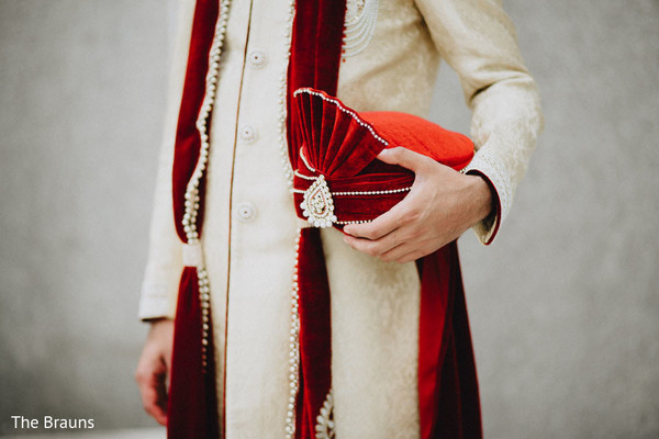 Groom Fashion in Columbus, OH  Indian Wedding by The Brauns
