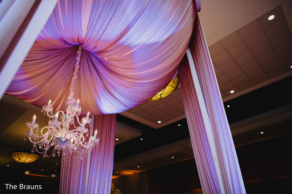 Mandap Details in Columbus, OH  Indian Wedding by The Brauns