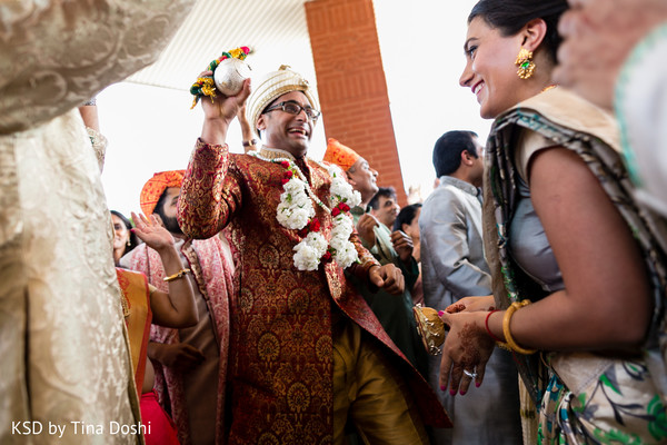 Baraat in Cleveland, OH Indian Wedding by KSD Weddings