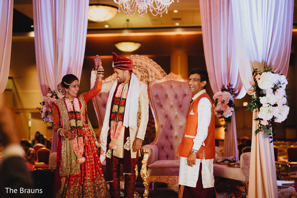 Ceremony in Columbus, OH  Indian Wedding by The Brauns