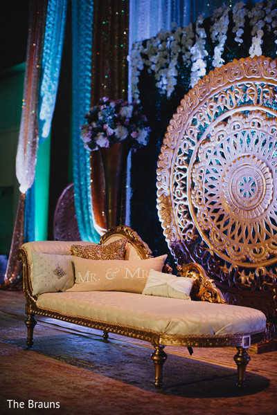 reception d?cor,floral and d?cor,indian wedding decorations,sweetheart stage