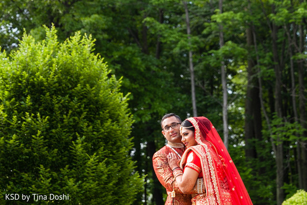 Indian wedding portraits in Cleveland, OH Indian Wedding by KSD Weddings