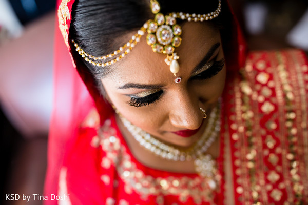Makeup in Cleveland, OH Indian Wedding by KSD Weddings