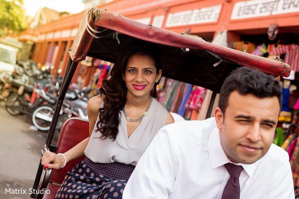 Engagement Portrait in Jaipur, India Indian Engagement by Matrix Studio