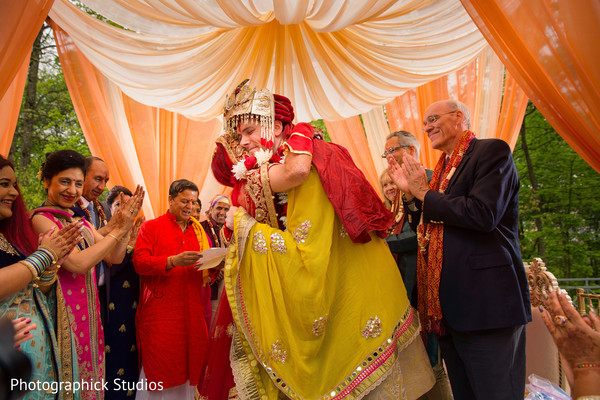 Fusion wedding in Chantilly, VA Indian Fusion Wedding by Photographick Studios