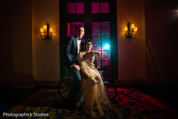 Reception in Chantilly, VA Indian Fusion Wedding by Photographick Studios
