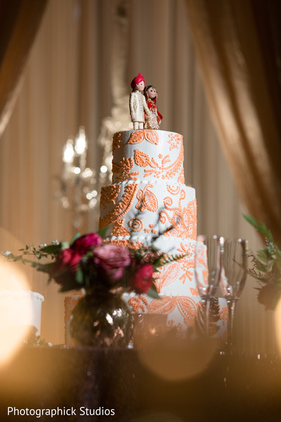Cake in Chantilly, VA Indian Fusion Wedding by Photographick Studios