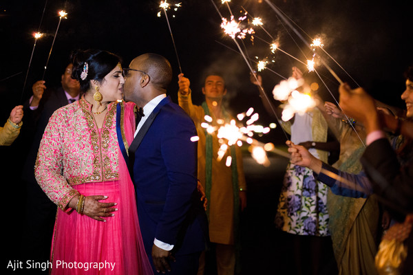 Reception in New Rochelle, NY Indian Fusion Wedding by Ajit Singh Photography