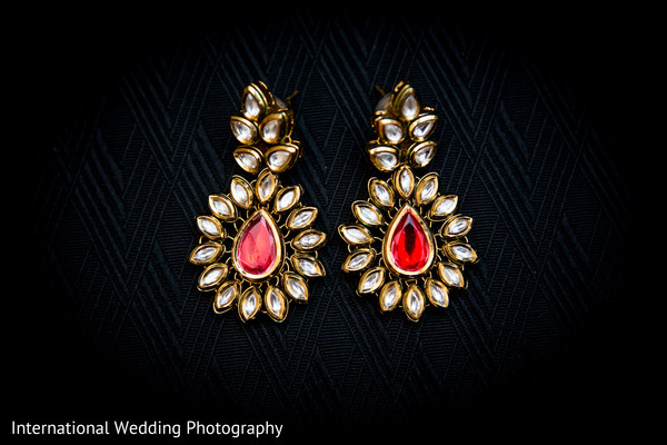 Bridal jewelry in San Jose, CA Sikh Wedding by International Wedding Photography