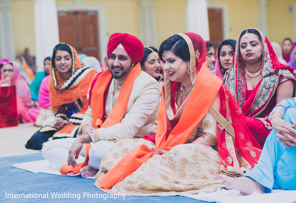 Sikh ceremony in San Jose, CA Sikh Wedding by International Wedding Photography