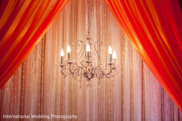 Reception decor in San Jose, CA Sikh Wedding by International Wedding Photography