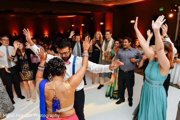 Reception in Newport Beach, CA Indian Wedding by Matei Horvath Photography