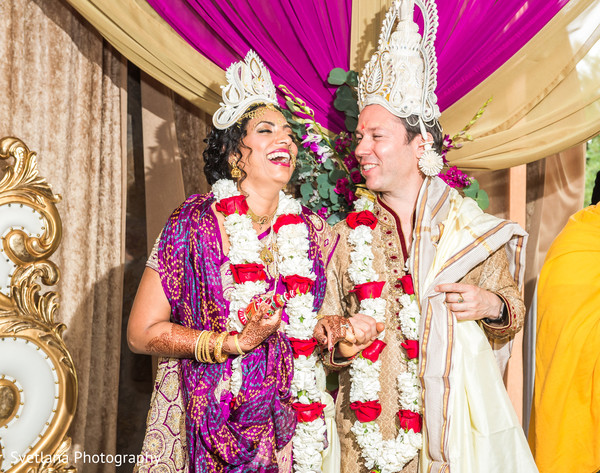 Bengali wedding ceremony in Dripping Springs, TX Fusion Wedding by Svetlana Photography