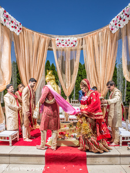 Hindu Wedding ceremony in Rockleigh NJ Indian Wedding by Jay Seth Photography