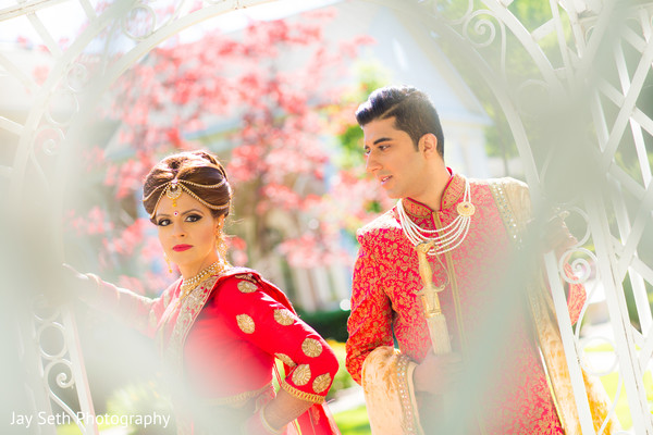 South Asian wedding portraits in Rockleigh NJ Indian Wedding by Jay Seth Photography