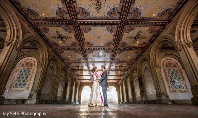 Reception portraits in Rockleigh NJ Indian Wedding by Jay Seth Photography