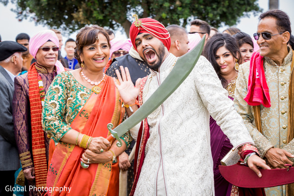 Dana Point, CA Indian Wedding in Dana Point, CA Sikh Wedding by Global Photography