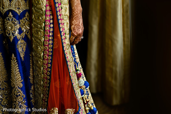 Wedding lengha in Baltimore, MD Indian Wedding by Photographick Studios