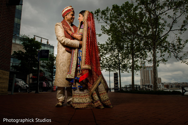 First look in Baltimore, MD Indian Wedding by Photographick Studios
