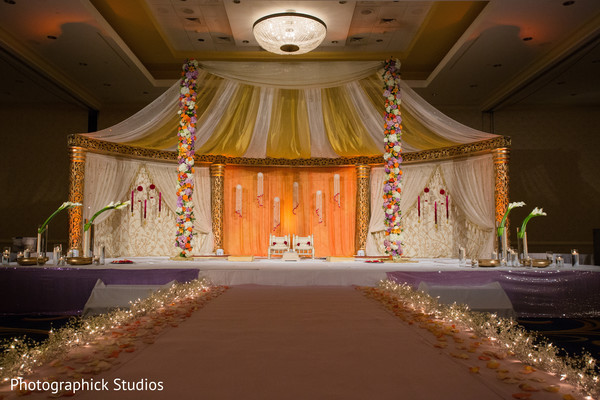 Mandap in Baltimore, MD Indian Wedding by Photographick Studios
