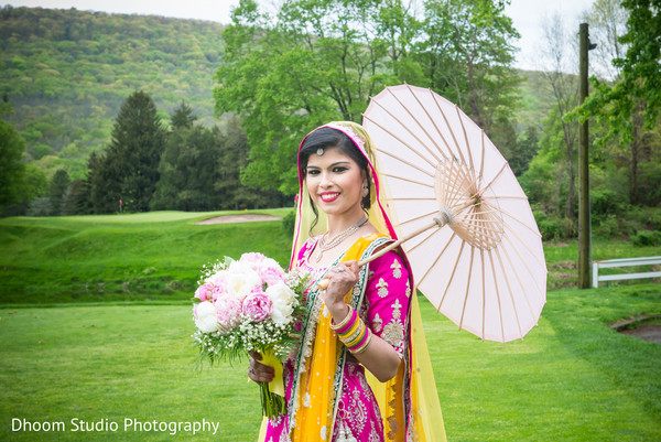 Bridal bouquet in Delaware, PA Indian Wedding by Dhoom Studio Photography