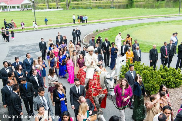 Baraat in Delaware, PA Indian Wedding by Dhoom Studio Photography