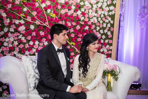 Ombre sweetheart stage in Delaware, PA Indian Wedding by Dhoom Studio Photography