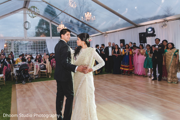 First dance in Delaware, PA Indian Wedding by Dhoom Studio Photography