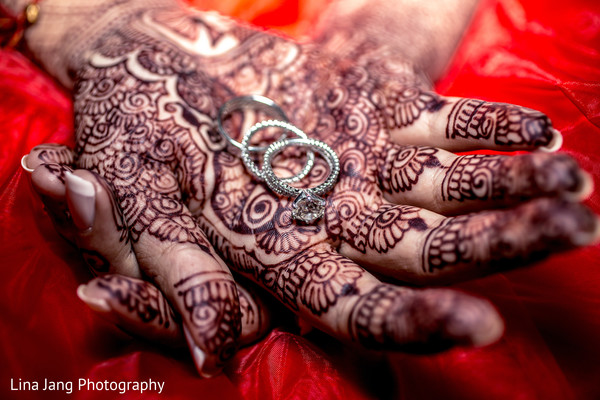 Wedding ring in Jersey City, New Jersey Indian Wedding by Lina Jang Photography