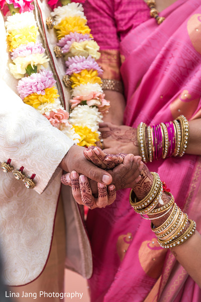 Indian groom in Jersey City, New Jersey Indian Wedding by Lina Jang Photography